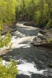 Τρέχοντες καταρράκτες ποταμών Στοκ Εικόνα