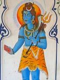 τρίαινα φιδιών krishna στοκ εικόνες
