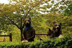 Τρία αντέχουν και κανένα Goldilocks Στοκ εικόνα με δικαίωμα ελεύθερης χρήσης