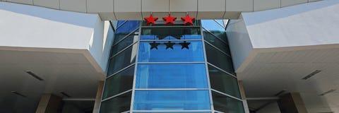 Τρία αστέρια ξενοδοχείου Στοκ Φωτογραφία
