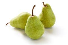 Τρία αχλάδια Στοκ Εικόνα