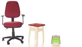Τρία καθίσματα Στοκ φωτογραφία με δικαίωμα ελεύθερης χρήσης