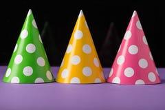 Τρία καπέλα κομμάτων Στοκ φωτογραφίες με δικαίωμα ελεύθερης χρήσης