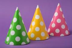 Τρία καπέλα κομμάτων Στοκ Φωτογραφία