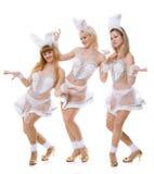 Τρία κορίτσια στοκ εικόνα