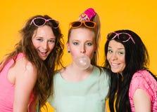 Τρία κορίτσια Στοκ εικόνα με δικαίωμα ελεύθερης χρήσης