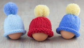 Τρία μαγκάές αυγών Στοκ Εικόνα
