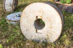 Τρία μεγάλα millstones Στοκ Εικόνα