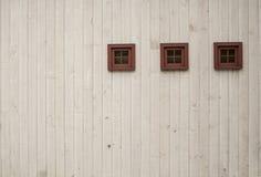 Τρία μικροσκοπικά παράθυρα στοκ εικόνες