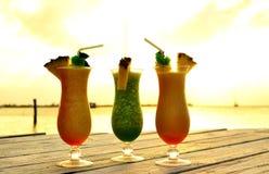Τροπικά ποτά στοκ εικόνες με δικαίωμα ελεύθερης χρήσης