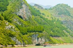 Τρία φαράγγια, ποταμός Yangtze Στοκ εικόνες με δικαίωμα ελεύθερης χρήσης