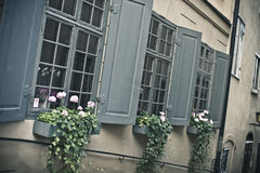 τρία Windows Στοκ φωτογραφία με δικαίωμα ελεύθερης χρήσης