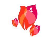 τρίγωνο δαμάσκηνων Στοκ εικόνες με δικαίωμα ελεύθερης χρήσης