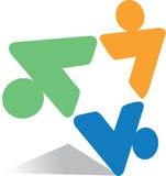 τρίγωνο λογότυπων απεικόνιση αποθεμάτων