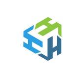 Τρίγωνο λογότυπων γραμμάτων Χ Στοκ φωτογραφία με δικαίωμα ελεύθερης χρήσης
