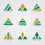 Τρίγωνο λογότυπων Στοκ εικόνα με δικαίωμα ελεύθερης χρήσης