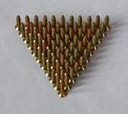 Τρίγωνο των βιδών Στοκ φωτογραφία με δικαίωμα ελεύθερης χρήσης