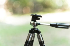 Τρίποδο για τη κάμερα Στοκ εικόνα με δικαίωμα ελεύθερης χρήσης
