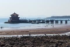 Τρίποδο ορόσημων Qingdao Στοκ φωτογραφία με δικαίωμα ελεύθερης χρήσης