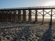 Τρίποδο στο Φορτ Μπράγκ, Καλιφόρνια στοκ φωτογραφίες με δικαίωμα ελεύθερης χρήσης