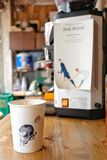 Τρίτος καφές κυμάτων Στοκ φωτογραφίες με δικαίωμα ελεύθερης χρήσης