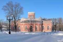 Τρίτο αλαζόνας κτήριο ` s σε Tsaritsyno, Μόσχα Στοκ φωτογραφίες με δικαίωμα ελεύθερης χρήσης