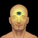Τρίτο μάτι, μάντης απεικόνιση αποθεμάτων