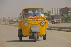 Τρίτροχο φορτηγό Ινδία Στοκ φωτογραφία με δικαίωμα ελεύθερης χρήσης
