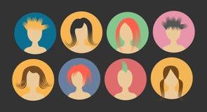 Τρίχα ανθρώπων αποτυχιών ειδώλων σε έναν κύκλο Στοκ εικόνα με δικαίωμα ελεύθερης χρήσης