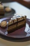 Τρίχρωμο κέικ Στοκ Φωτογραφία