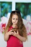 τρίχωμα κοριτσιών λίγα πολ στοκ εικόνες με δικαίωμα ελεύθερης χρήσης