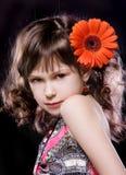 τρίχωμα κοριτσιών λουλο& στοκ εικόνες