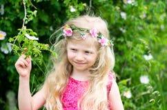 τρίχωμα κοριτσιών μακρύ Στοκ εικόνα με δικαίωμα ελεύθερης χρήσης