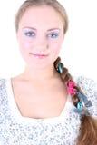 τρίχωμα κοριτσιών πεταλού& Στοκ Φωτογραφίες