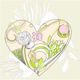 τρίχωμα λουλουδιών αρχι& απεικόνιση αποθεμάτων