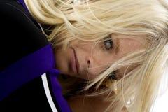 τρίχωμα προσώπου μαζορετώ Στοκ φωτογραφία με δικαίωμα ελεύθερης χρήσης