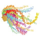 τρίχωμα φυσικό Στοκ εικόνα με δικαίωμα ελεύθερης χρήσης