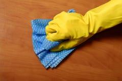 τρίψιμο καθαρισμού Στοκ φωτογραφίες με δικαίωμα ελεύθερης χρήσης