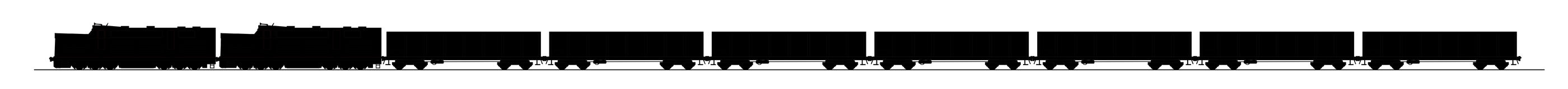 τραίνο άνθρακα Στοκ εικόνες με δικαίωμα ελεύθερης χρήσης
