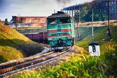 τραίνο αγαθών Στοκ φωτογραφία με δικαίωμα ελεύθερης χρήσης