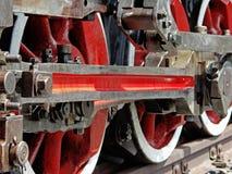 τραίνο ατμού λεπτομέρεια&sig Στοκ εικόνες με δικαίωμα ελεύθερης χρήσης