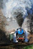 Τραίνο ατμού της Πράγας Στοκ Εικόνες