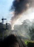 τραίνο ατμού Στοκ φωτογραφία με δικαίωμα ελεύθερης χρήσης