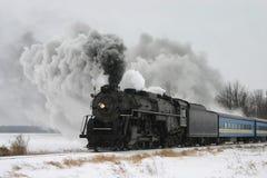 τραίνο ατμού στοκ εικόνες με δικαίωμα ελεύθερης χρήσης