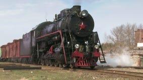 Τραίνο ατμού απόθεμα βίντεο