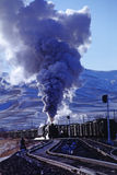 τραίνο ατμού στοκ εικόνα