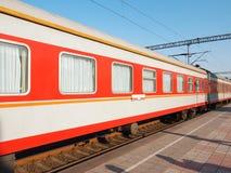 τραίνο αυτοκινήτων Στοκ Εικόνες