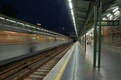 τραίνο Βιέννη σταθμών Στοκ Φωτογραφίες