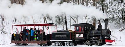 Τραίνο βουνών χωριατών Στοκ φωτογραφία με δικαίωμα ελεύθερης χρήσης