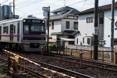 Τραίνο γραμμών Keisei Στοκ φωτογραφία με δικαίωμα ελεύθερης χρήσης